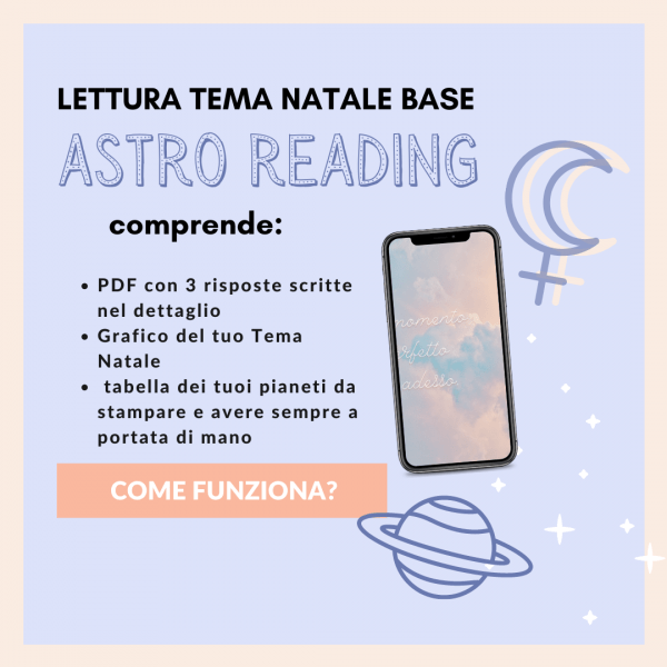 astro reading: letture tema natale rising wild